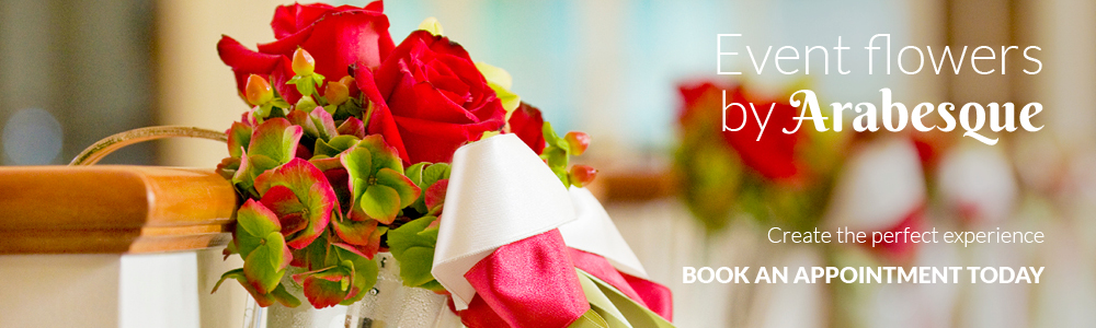 Events & Corporate Flowers Maidstone by Arabesque Florist